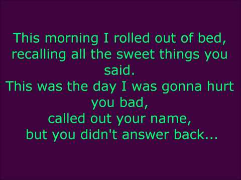 "Rascal Flatts: ""My Worst Fear"" ~Lyrics"