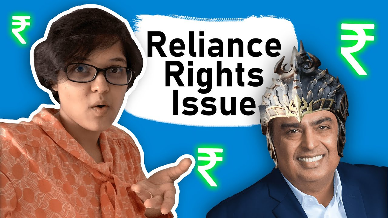 What is Reliance Rights Issue? How to buy the Reliance Rights Issue? Explained by CA Rachana Ranade