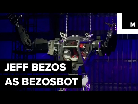Jeff Bezos unveils a massive robot