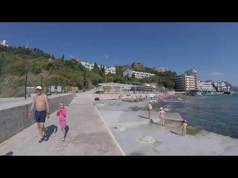 Пляж санатория Утес