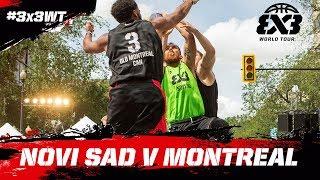 Novi Sad v Old Montreal | Full Game | FIBA 3x3 World Tour 2018 - Saskatoon Masters 2018