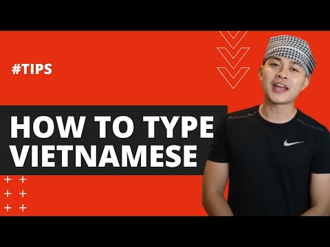 How To Type Vietnamese Using VNI And Telex - (Tutorial ) Learn Vietnamese With SVFF
