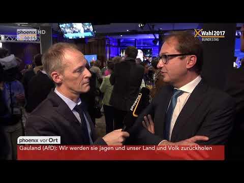 Bundestagswahl 2017: Interviews mit Seehofer, Scheuer und Dobrindt am 24.09.2017