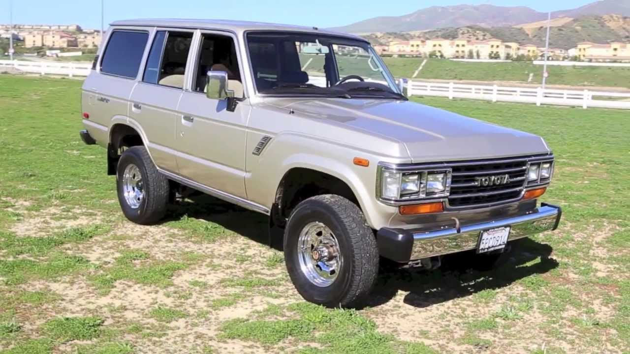 1988 fj62 toyota land cruiser for sale by tlc youtube. Black Bedroom Furniture Sets. Home Design Ideas