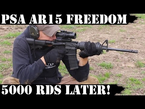 Palmetto State Armory AR15 Freedom: 5000rds later! THE END!