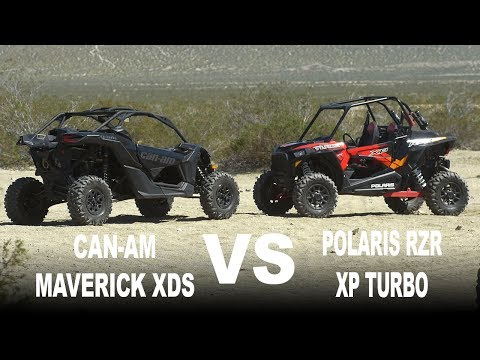 2017 Polaris RZR Turbo VS Can Am Maverick XDS Turbo - Dirt Wheels Magazine