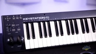 M Audio Keystation 49 USB MIDI Controller Keyboard - M Audio Keystation 49