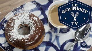Chocolate Doughnut Glaze Recipe - Le Gourmet Tv