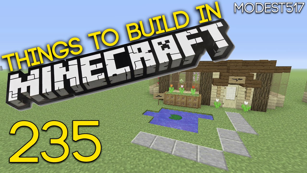 Things To Build In Minecraft Xbox One Edition