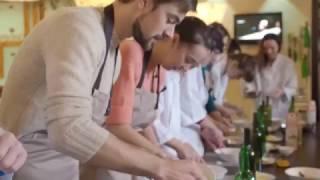 Мастер класс Хачапури ресторан #Блинофф Харьков видеостудия Sbalance