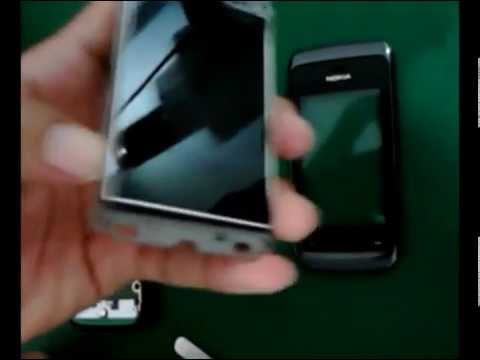 Disassembly Nokia Asha 310 - 309 - 308 (Real Video)