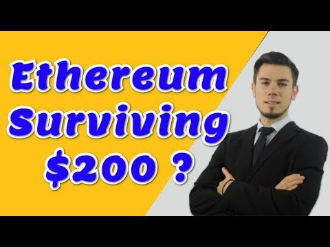 Ethereum Surviving $200 ? – Technical Analysis Today News Price