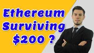 Ethereum Surviving $200 ? - Technical Analysis Today News Price