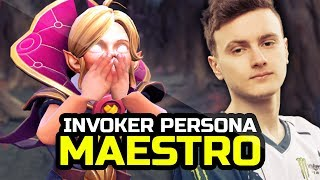 Miracle- Young Invoker Persona - 10k Comeback like M-GOD - Acolyte of the Lost Arts Set TI9 - Dota 2