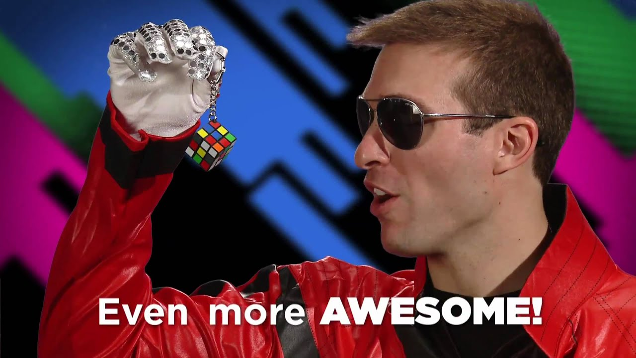 Rubik's Cube Keyring for on-the-go play