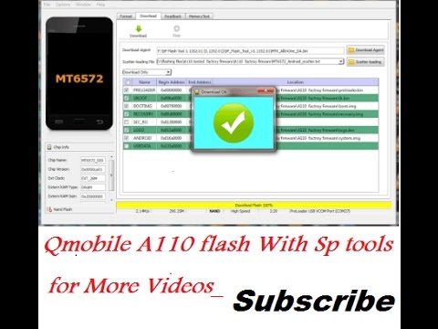 qmobile a110 scatter file