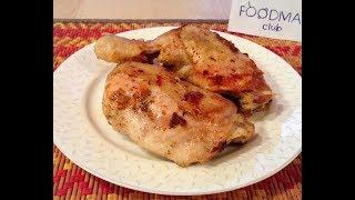 Жареные куриные окорочка с чесноком в мультиварке: рецепт от Foodman.club