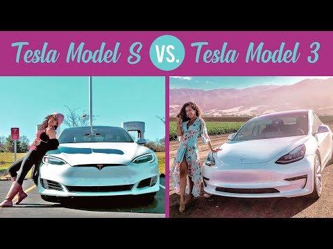 TESLA MODEL 3 Vs. TESLA MODEL S: The Biggest Differences