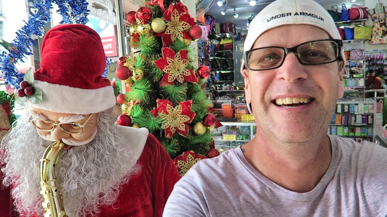 Christmas Tree Shopping In The Philippines Angeles City