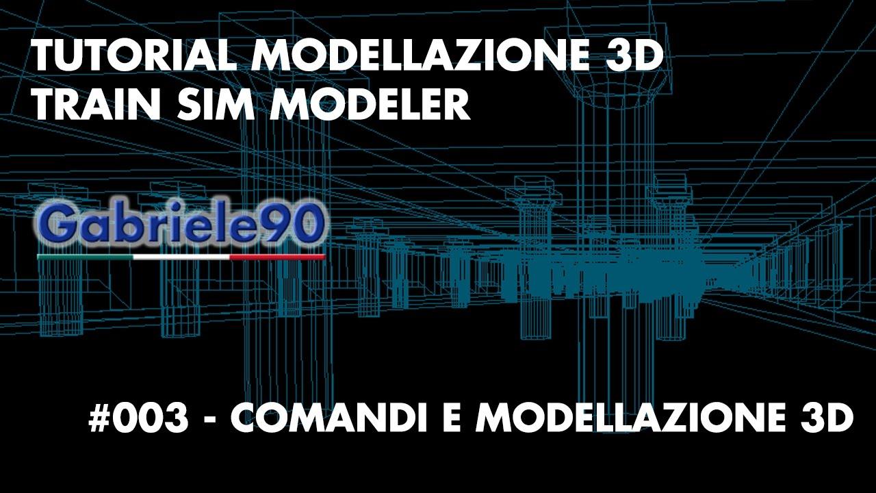 Tutorial modellazione 3d train sim modeler 003 youtube for Modellazione 3d gratis
