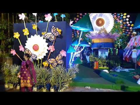 Budge budge Nandanpur Puja pandel 2017