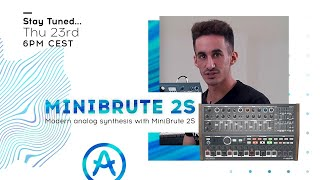 Live Workshop | Modern analog synthesis with MiniBrute 2S (with Jakub Manaj)