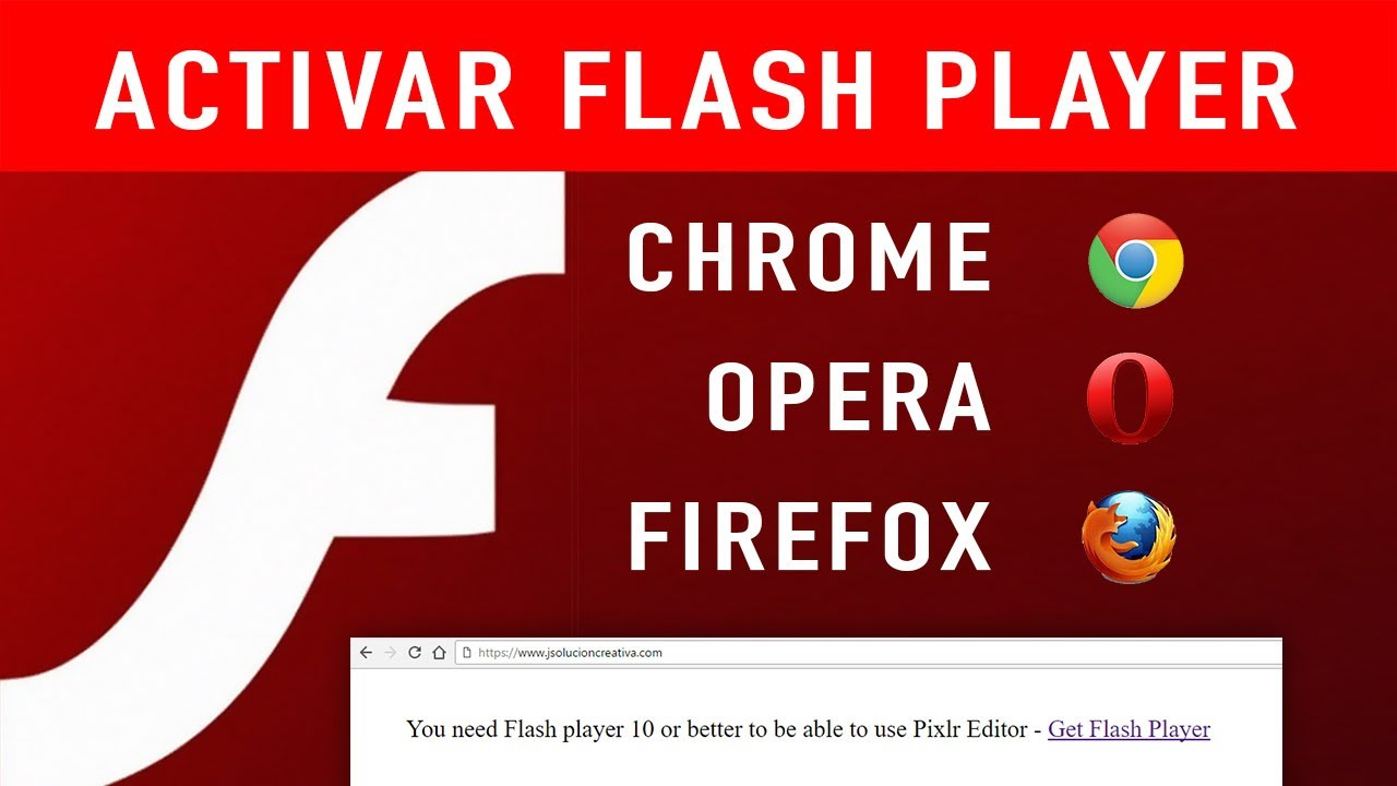 descargar flash player para google chrome gratis windows 7