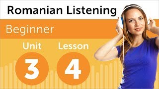 Romanian Listening Practice - Talking About Your Family in Romanian