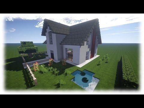 Minecraft modernes haus mit luxuslampen bauen 15x19 12 for Minecraft modernes haus jannis gerzen
