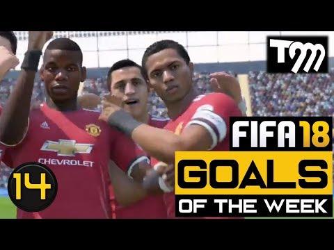 Fifa 18 - TOP 10 GOALS OF THE WEEK #14