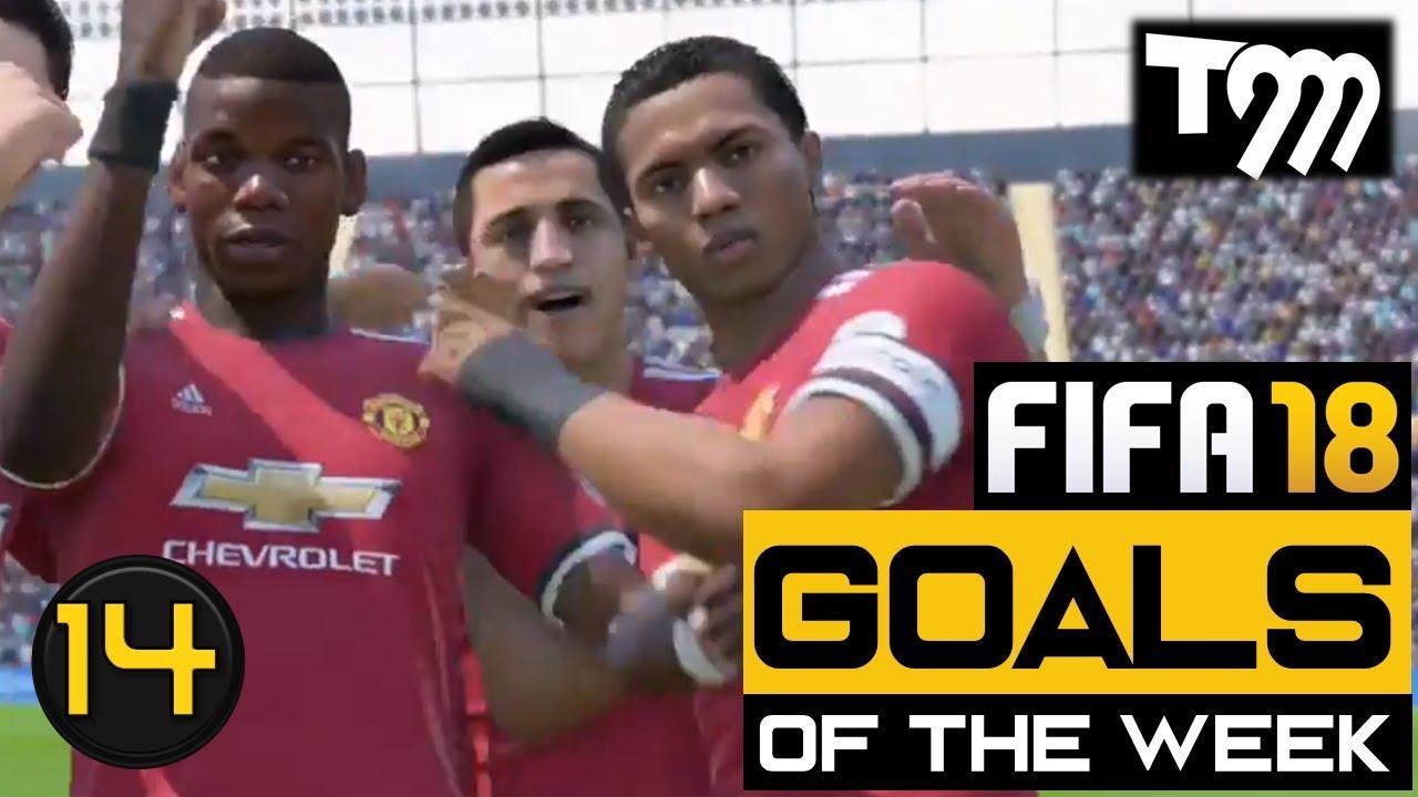 EA Sports'tan Haftanın Gollerii Galerisi