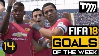 Fifa 18 - TOP 10 GOALS OF THE WEEK #14 (Best Fifa 18 Goals)