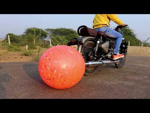 Balloon Vs Bullet