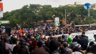 Prophet Owour dramatic entry in Nakuru ahead of a three-day Pastors conference