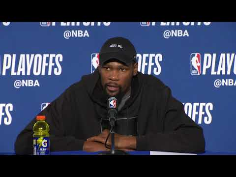 Kevin Durant Postgame Interview - Game 5 | Pelicans vs Warriors | May 8, 2018 | 2018 NBA Playoffs