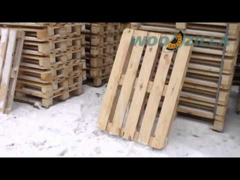 Euro pallet 800x1200 | pine wood elements
