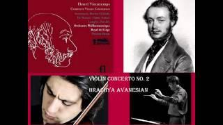 Henri Vieuxtemps: Violin Concerto No. 2 in F sharp minor, Op. 19, Hrachya Avanesyan