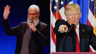 David Letterman Calls President Trump 'Psychotic'