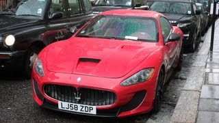 Maserati Gran Turismo S with Carbon Wheels nice Sounds