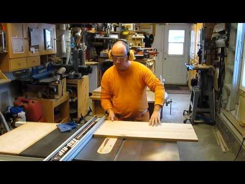 Projet Table de chevet - Fabrication du caisson