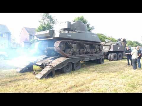 M4A4 Sherman Offloading A&E 2016