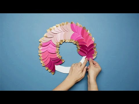 Paperchase - How to Make a Christmas Wreath