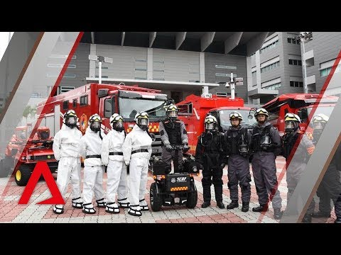 SCDF hazmat team on standby at ASEAN Summit in Singapore