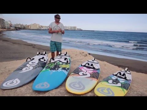 Windsurfing Tools Of The Trade - Boards