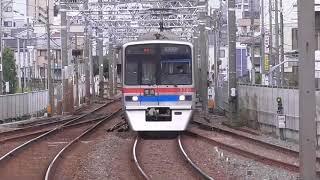 京成3700形 普通京成高砂行き 千住大橋駅到着