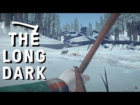The Long Dark - TRACKING a BLEEDING WOLF - Vigilant Flame Ep. 13