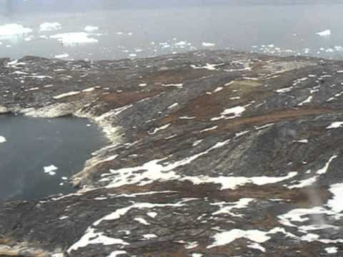Air Greenland Dash-7 Landing At Ilulissat