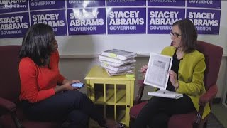 Abrams campaign responds to the legal drama unfolding post-election