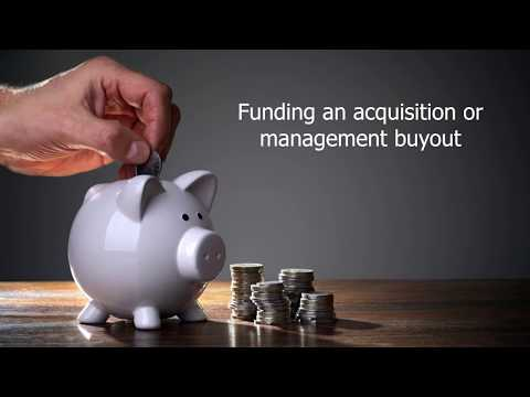 Funding an acquisition or management buyout