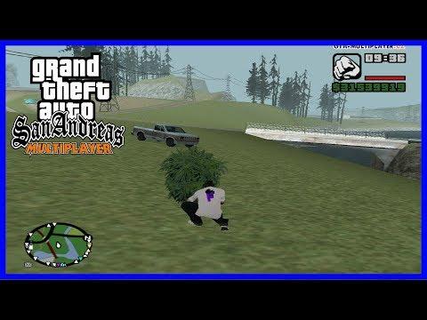 HLEDÁME DROGY V PŘÍRODĚ! (GTA San Andreas Multiplayer #38)